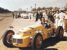 1950 Johnnie Parsons Kurtis Offy