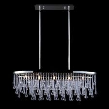 Buy the Avenue Lighting Polished Nickel Direct. Shop for the Avenue Lighting Polished Nickel Hollywood Blvd. Wide 5 Light Crystal Accented Oval Linear Chandelier and save.