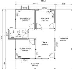 plantas de casas de alvenaria com 2 quartos para imprimir