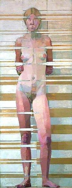 Euan Uglow Nude, 12 Vertical Positions from the Eye Oil on Board 96 x 36 inches 1967 Figure Painting, Figure Drawing, Painting & Drawing, Art Uk, Life Drawing, Contemporary Paintings, Erotic Art, Art Techniques, Figurative Art