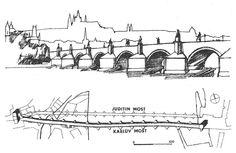 karlův most kresba - Hledat Googlem Sheet Music, Tattoo, Art, Historia, Art Background, Kunst, Tattoos, Performing Arts, Music Sheets