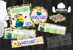 #Personalized #Label #Sticker ¡Everybody ready! #Minion https://www.facebook.com/invitaciones.bombon