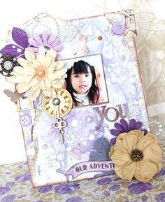 You MixedMedia Kaori Fujimoto BoBunny PennyEmporium 1
