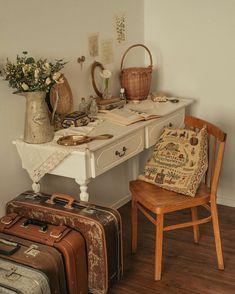My New Room, My Room, Room Ideas Bedroom, Bedroom Decor, Vintage Room, Vintage Decor, Aesthetic Room Decor, Dream Rooms, House Rooms