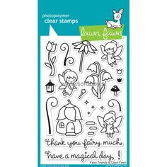 Lawn Fawn fairy friends Stamps