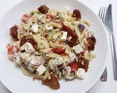 VEGA romige pasta Philadelphia met veel groentes