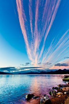 Pink stripes Frank Olsen, Norway