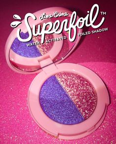 Get ready for the new generation of eyeshadows! Lime Crime's #Superfoils launch June 21st, bringing a whole new level of foilized metallics to the makeup game. Spritz with water to turn them into LIQUID FOIL!   Introducing the third duo revealed from our 6 duos, Tutu/En Pointe! Subscribe to be notified the second it launches on limecrime.com/eyes  #limecrime