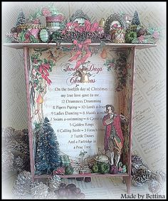Christmas Table Package... 'The Twelve Days of Christmas'...G45 by Bettina @ Scrap-Unlimited /  beautiful