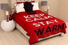 New Eland blanket - keep calm and stay warm