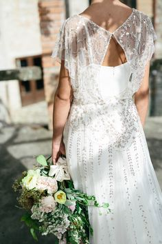 Jenny Packham Wedding Dresses | Romantic Bridal Inspiration Shoot From Umbria Italy | Images by Matteo Crescentini | http://www.rockmywedding.co.uk/an-umbrian-love-story/