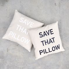 Save That Pillow | Caitlin Crosby