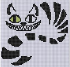 Looking for your next project? You're going to love Cheshire Cat Cross Stitch Pattern by designer bracefacepatterns. - via @Craftsy
