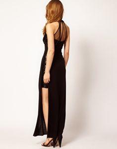 Enlarge Coast Elliston Maxi Dress! Perf for a #rockin concert look! #RimmelLondonUS