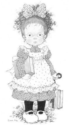 "Képtalálat a következőre: ""sarah kay"" Sarah Key, Colouring Pages, Adult Coloring Pages, Coloring Books, Holly Hobbie, Sara Key Imagenes, Image Deco, Creative Pictures, Cute Images"