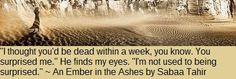 Seeing Double in Neverland: Teaser Tuesday: An Ember in the Ashes by Sabaa Tah...