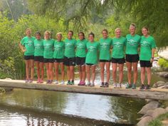 There is no doubt now. The Bemidji State University cross country team in officially the first team on the Mississippi. The team did a training run to the headwaters of the Mississippi in Itasca State Park Sept. 27, 2013. GoGreen!