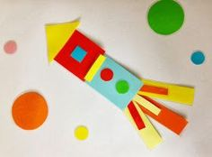 Do you remember playing with magnetic or wooden shapes when you were little?   I had a set of wooden shapes in different sizes and colours w...
