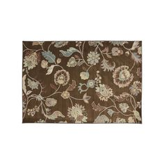 Mohawk® Home Serenity Sol Star Floral Rug - 9'6'' x 13', Brown