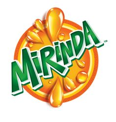 Mirinda logo image: Mirinda is a brand of soft drink. Template Free, Logo Template, Typography Poster Design, Typography Logo, Lettering, Food Graphic Design, Food Logo Design, Text Design, Label Design