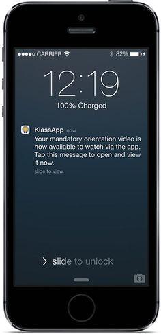 Klass App - A smarter way to engage KLASS App extends your school's operations via your own custom App! www.klassapp.com/ #titanium