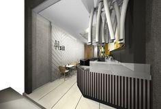 Spezzio pasta interior design, in Athens | Interior Designer | iidsk Kyriakos Serefoglou
