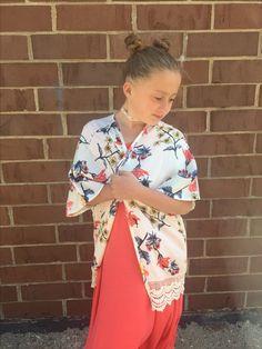 Kimonos and Maxi dresses for girls!