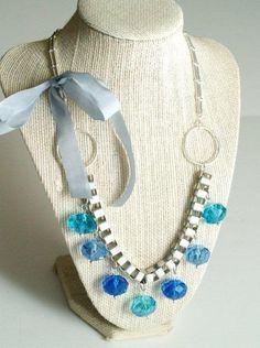 DIY Necklace  : DIY Anthro Frozen Globes Necklace Knockoff
