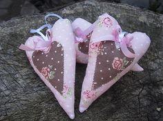 Romantické srdiečka ... by Vikindos - SAShE.sk - Handmade Dekorácie