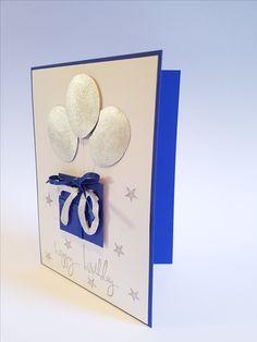 Geburtstagskarte - 70. Geburtstag
