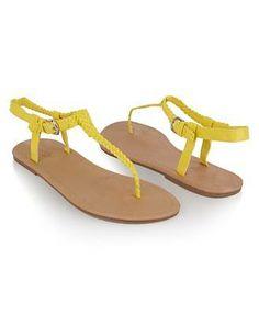 #Yellow sandels