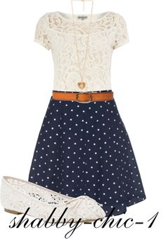 """lace!"" by shabby-chic-1 ❤ liked on Polyvore"