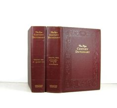 Vintage Dictionary Books    Decor  Home  and by DecadesOfVintage, $25.00