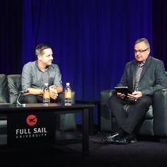On Air with @philpallen  #FullSailHOF #MCBSHOF7 #Personalbranding #socialmedia