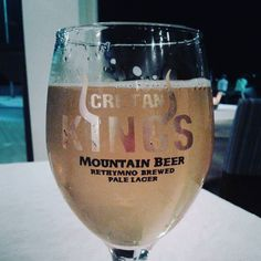 Cretan Kings beer from Rethymno named after the local basketball team. Very refreshing! http://ift.tt/2x7lzFb