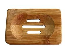 Keep a spare with a pet around! New Portable Soap Tray Holder Natural Bamboo Wooden Soaps Dish Box Case Container Wash Shower Storage Stand Home Bathroom Tool ** Dish Storage, Wood Storage, Storage Rack, Bathroom Soap Holder, Wood Soap Dish, Soap Dishes, Essential Oils Soap, Shower Storage, Bentonite Clay