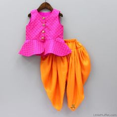 Indian Wear, Ethnic Wear for Girls Long Frocks For Girls, Dresses Kids Girl, Kids Outfits, Baby Dresses, Baby Dress Design, Frock Design, Kids Indian Wear, Kids Blouse Designs, Kids Gown