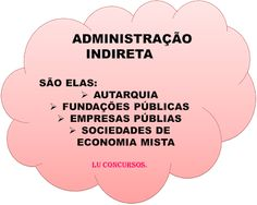 Lu Concursos: ADMINISTRAÇÃO INDIRETA Crafts For Kids, Pasta, Law School, Lawyers, Life, Crafts For Children, Kids Arts And Crafts, Kid Crafts, Craft Kids