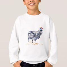 #Guinea hen sweatshirt - #african #safari #gifts #beautiful #africa