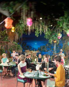 Blue Bayou Restaurant at Disneyland circa 1967