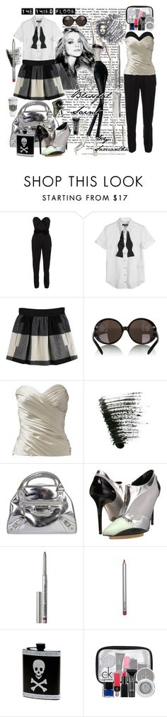 """""""SAM 4/21-23-PrimaryFocusClass/WorkW/Design /""""Imogen Art Exhibition"""""""" by prettybaby ❤ liked on Polyvore featuring Yves Saint Laurent, McQ by Alexander McQueen, Opening Ceremony, Miu Miu, Urban Decay, Balenciaga, Clinique, Stila, ck Calvin Klein and Tiffany & Co."""