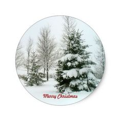 Shop Snow-Laden Trees, Merry Christmas Classic Round Sticker created by Personalize it with photos & text or purchase as is! Christmas Gifts For Her, Christmas Themes, Merry Christmas, Christmas Decorations, Fir Tree, Christmas Stickers, Round Stickers, Custom Stickers, Activities For Kids