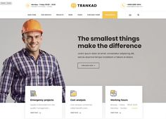 Buy Trankad - Construction WordPress Theme by modeltheme on ThemeForest. Trankad is the ideal WordPress Theme for Construction Businesses specialized on roads, buildings, megastructure cons.