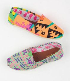 Aztec and Patterned Toms