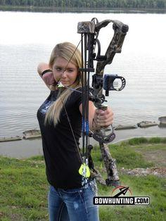 Archery shooters ass