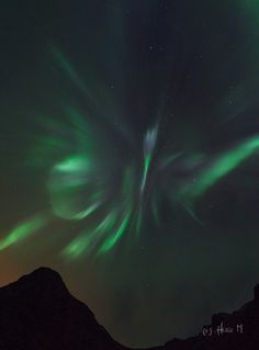 """This Northern Lepidoptera appeared when a """"kink"""" in the interplanetary magnetic field (IMF) drifted past Earth, briefly opening a crack in our planet's magnetosphere. Solar wind poured in to fuel the display. At the peak of the storm, the Arctic Circle was glowing from Scandinavia to Iceland to Canada."""