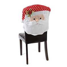 Beautiful Santa Claus Chair Cover *