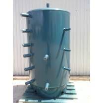 Dunaterm 1500 L Puffertartály hőcserélő-, szigetelés nélkül