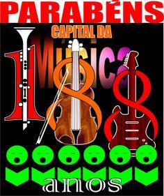 PARABÉNS CAPITAL DAMÚSICA - 11 DE Agosto -Visite-nos