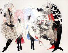 chelsea brown #illustration Chelsea Brown, Art Boards, I Tattoo, Contemporary Art, Gstar, Comics, Artwork, Anime, Illustrations